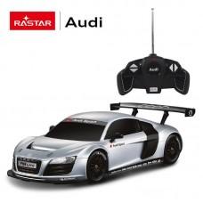 Машина р/у 1:18 Audi R8 Цвет Серебряный