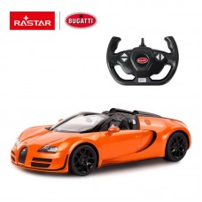 Машина р/у 1:14 Bugatti Grand Sport Vitesse, цвет оранжевый