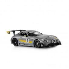 Машина р/у 1:14 Mercedes AMG GT3, цвет серый 27MHZ