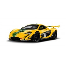 Машина р/у 1:14 McLaren P1 GTR, 33,6x14,2x8,6 см, цвет жёлтый 27MHZ
