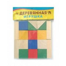 Конструктор деревянный 18 элементов (Рыжий Кот, К-0151)