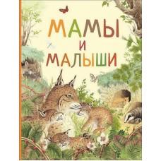Книга. Удивительный мир животных. Мамы и малыши