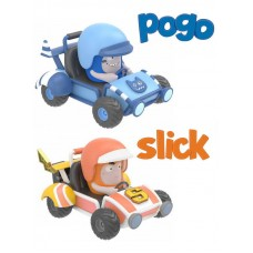 Миникартинги Oddbods POGO&SLICK (RP2 Global Limited, AV3002X)