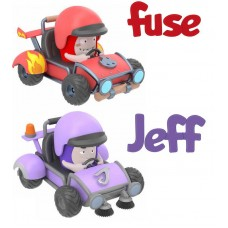 Миникартинги Oddbods FUSE&JEFF (RP2 Global Limited, AV3003X)