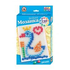 Мозаика Brilliant Царевна-Лебедь 150 эл, D 15 мм, Большая плата (Русский Стиль, 03971-no)