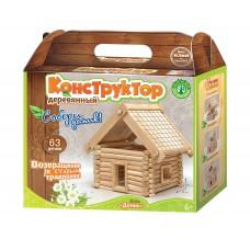 Деревянный конструктор «Домик» (Русский сувенир, 70001)