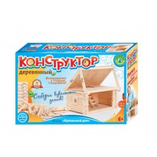Деревянный конструктор «Кукольный домик» (Русский сувенир, 70007)