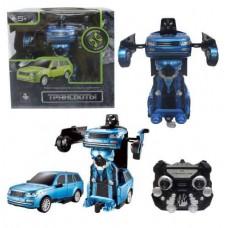 1toy Робот на р/у 2,4GHz, трансформирующийся в джип, синий (Solmar Pte Ltd, Т10865)