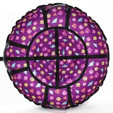 Тюбинг TRIUMF ACTIVE Люкс Совята фиолетовые 105 см