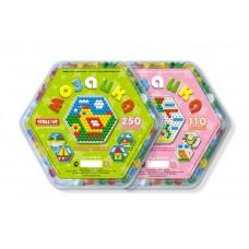 Мозаика (диаметр 13мм/250шт) , шестигранная коробка (STELLAR, 1020)