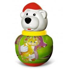 """Неваляшка малая Белый медведь """"Борис"""" в п/пакете (STELLAR, 1737)"""