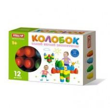 Конструктор Колобок (12 деталей), коробка (STELLAR, 3002)
