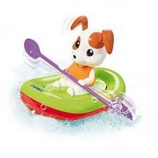Игрушка для ванной. Щенок на лодке (TOMY UK LIMITED, E72424)
