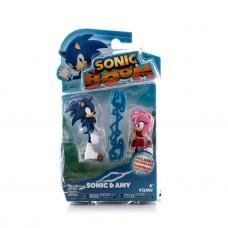 Набор из 2 фигурок Sonic, 7,5 см (TOMY UK LIMITED, T22502-no)