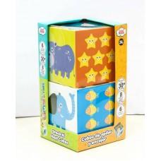 Игрушка развивающая Складные кубики