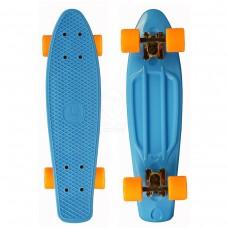"Скейтборд 22"" TLS-401 Classic голубой"