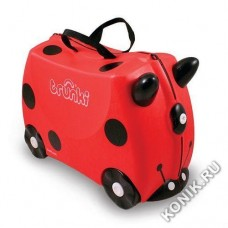 Чемодан на колесиках Harley Ladybug, Божья коровка Trunki (0092-GB01-P1)