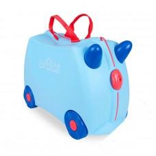 Чемодан на колесах Джордж, голубой Trunki (0166-GB01)