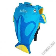 Рюкзак для бассейна и пляжа Коралловая рыбка, голубой Trunki (0173-GB01)