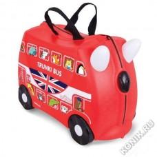 Чемодан на колесиках Автобус Trunki (0186-GB01-P4)