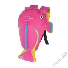Рюкзак для бассейна и пляжа Коралловая рыбка, розовый Trunki (0250-GB01)