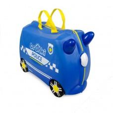 Чемодан на колесиках Полицейская машина Перси Trunki (0323-GB01)