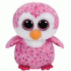 Beanie Boo's Пингвин Glider розовый, 15 см (TY, 36177)