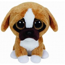 Мягкая игрушка Щенок породы боксер Brutus Beanie Boo's, 15 см (TY, 36188-no)