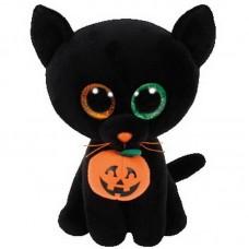 Beanie Boo's Кошка SHADOW черная, 15 см (TY, 37193)