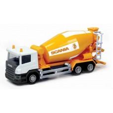 Машина металлическая RMZ City 1:64 Бетономешалка Scania, без механизмов, 18.8 x 5.17 x 9 см (UNI-FORTUNE Toys Industrial Ltd., 144005)