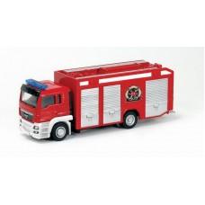 Машина металлическая RMZ City пожарная 1:64 MAN, без механизмов, 18.8 x 5.17 x 9 см (UNI-FORTUNE Toys Industrial Ltd., 144021)