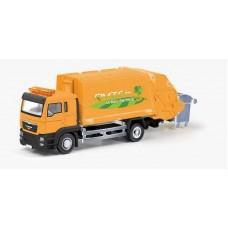 Машина металлический RMZ City 1:64 Мусоровоз MAN, без механизмов, 18.8 x 5.17 x 9 см (UNI-FORTUNE Toys Industrial Ltd., 144026)