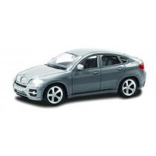 Машина металлическая RMZ City 1:43 BMW X6 , без механизмов, цвет серый, 12,5 x 5,6 x 5,9 см