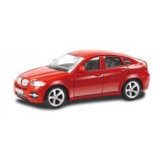 Машина металлическая RMZ City 1:43 BMW X6 , без механизмов, цвет красный, 12,5 x 5,6 x 5,9 см