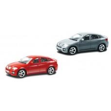 Машина металлическая RMZ City 1:43 BMW X6 , без механизмов (UNI-FORTUNE Toys Industrial Ltd., 444002)