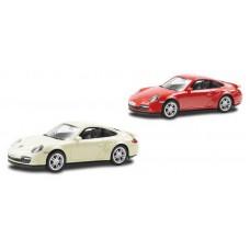 Машина металлическая RMZ City 1:43 Porsche Carrera 911, без механизмов (UNI-FORTUNE Toys Industrial Ltd., 444010)