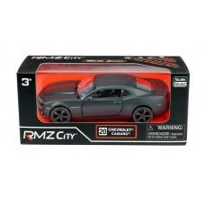 Машина металлическая RMZ City 1:32 Chevrolet Camaro, инерционная, серый матовый цвет, 16.5 x 7.5 x 7 см (UNI-FORTUNE Toys Industrial Ltd., 554005M)