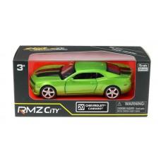 Машина металлическая RMZ City 1:32 Chevrolet Camaro, инерционная, цвет зеленый металлик (UNI-FORTUNE Toys Industrial Ltd., 554005Z(F))