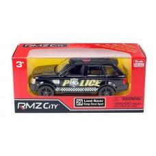 Машина металлическая RMZ City 1:36 Land Rover Range Rover Sport, полицейская машина, инерционная