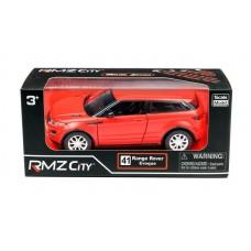 Машина металлическая RMZ City 1:32 Range Rover Evoque, инерционная, красный матовый цвет, 16.5 x 7.5 x 7 см (UNI-FORTUNE Toys Industrial Ltd., 554008M(A))