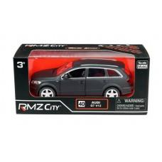 Машина металлическая RMZ City 1:32 Audi Q7 V12 , инерционная, серый матовый цвет, 16.5 x 7.5 x 7 см (UNI-FORTUNE Toys Industrial Ltd., 554016M)