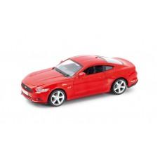 Машина металлическая RMZ City 1:32 Ford Mustang 2015 инерционная  (красный/желтый), 12,7х5,08х3,75 см (UNI-FORTUNE Toys Industrial Ltd., 554029)