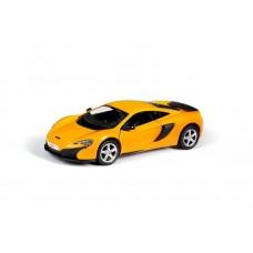 Машина металлическая RMZ City 1:32 McLaren 650S, инерционная, цвет желтый