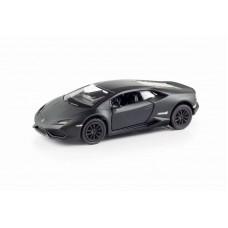 Машина металлическая RMZ City 1:32 Lamborghini Hurac?n LP610-4 инерционная, цвет матовый черный, 12,76х5,47х3,40 см (UNI-FORTUNE Toys Industrial Ltd., 554996M)