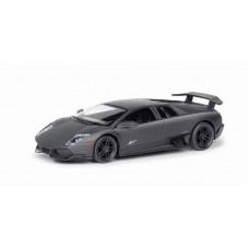 Машина металлическая RMZ City 1:32 Lamborghini Murcielago LP670-4 , инерционная, серый матовый цвет, 16.5 x 7.5 x 7 см (UNI-FORTUNE Toys Industrial Ltd., 554997M)