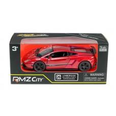 Машина металлическая RMZ City 1:36 Lamborghini Gallardo LP570-4 Superleggera, инерционная, цвет красный металлик