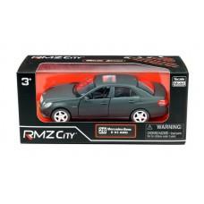 Машина металлическая RMZ City 1:32 Mercedes Benz E63 AMG, инерционная, черный матовый цвет (UNI-FORTUNE Toys Industrial Ltd., 554999M)