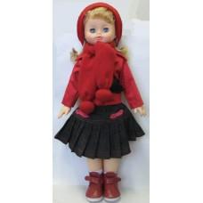 Кукла Алиса 29 со звуковым устройсвом (ходячая) (пластмассовая) (ВЕСНА, В1957/о/С1957/о)