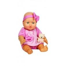 Кукла Малышка с мишуткой, 30см (Россия)