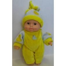 Кукла Карапуз 10, мальчик К, пластмассовая, 20 см